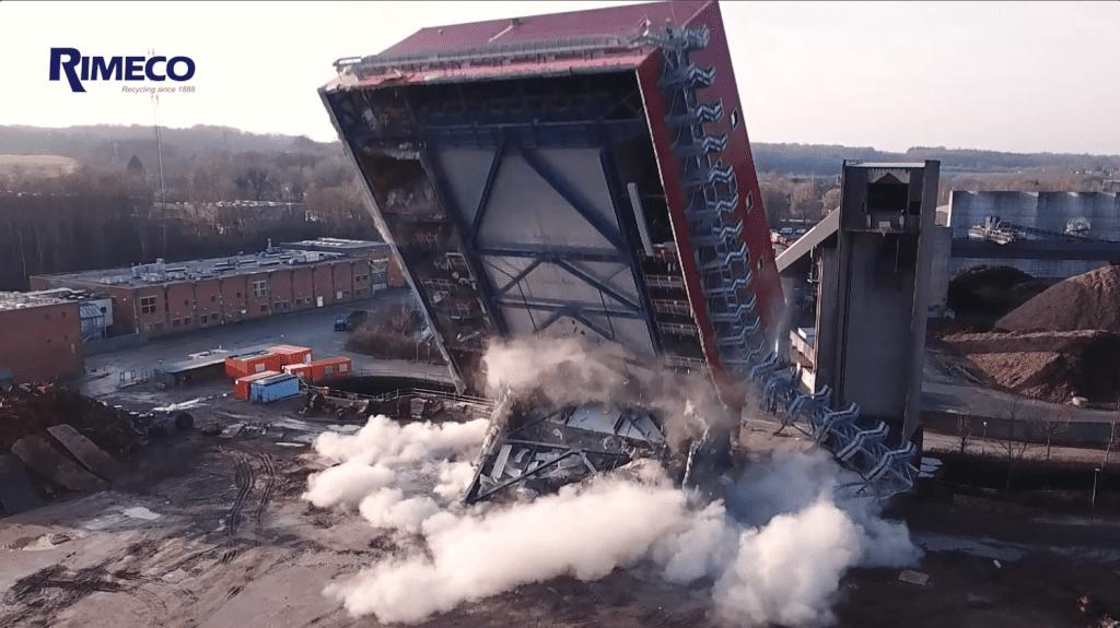 Demolition Of The Denox Building