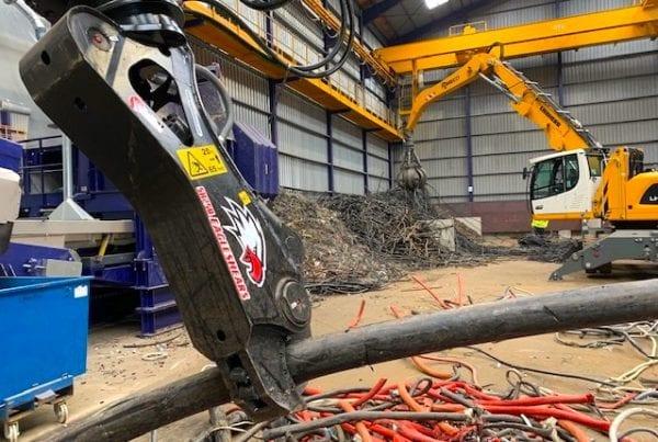 shears and metal scrap