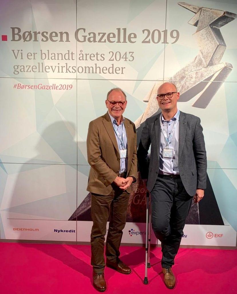 Rimeco kåret som Børsen Gazelle-virksomhed 2019