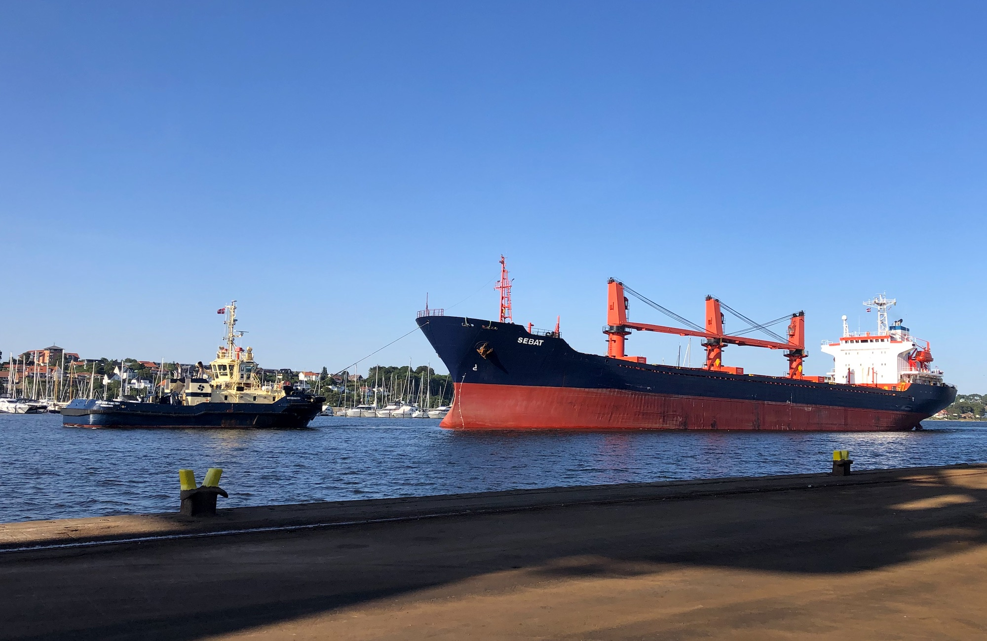 Shipping handy-sized freighters